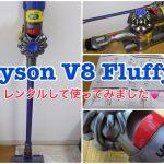 Dyson V8 Fluffyの吸引力が気になる!ホコリやごみを1回でどのくらい吸ってくれるのかを検証